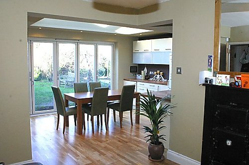 Kitchen extensions project 5 1 for Dining room extension ideas